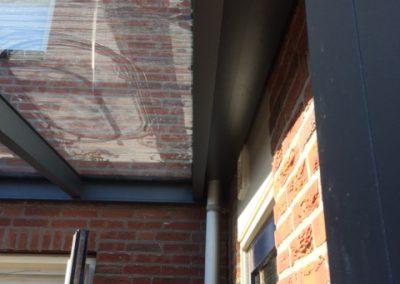 Wieringerwerf strakke plaatsing tegen zijmuur